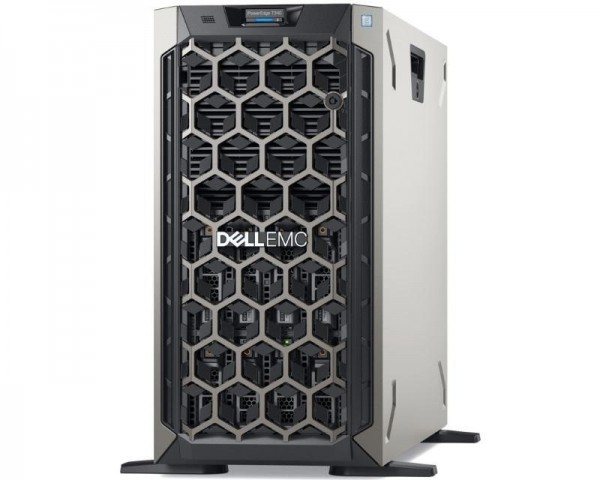 DELL PowerEdge T340 Xeon E-2234 4C 1x16GB H330 480GB SSD DVDRW 495W (1+1) 3yr NBD