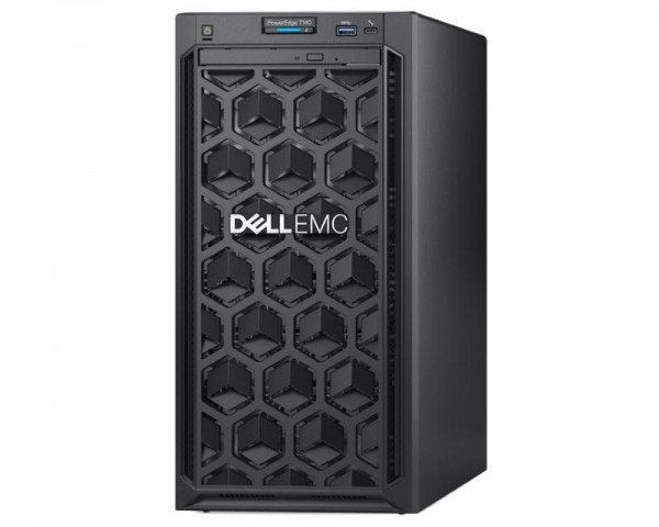 DELL PowerEdge T140 Xeon E-2234 4C 16GB H330 1TB SATA DVDRW 365W 3yr NBD