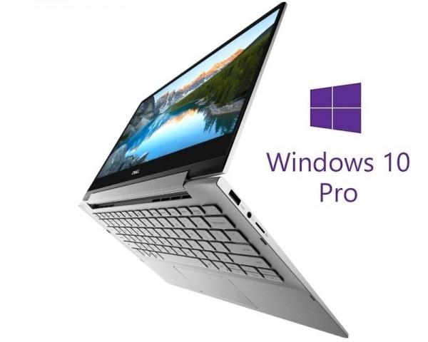 DELL Inspiron 7391 2-u-1 13.3'' FHD Touch i7-10510U 8GB 512GB SSD Backlit Win10Pro srebrni 5Y5B