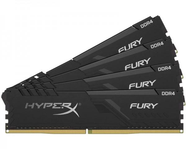 KINGSTON DIMM DDR4 128GB (4x32GB kit) 3200MHz HX432C16FB3K4128 HyperX Fury Black