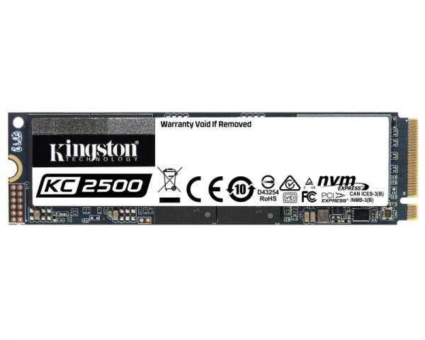 KINGSTON 250GB M.2 NVMe SKC2500M8250G SSDNow KC2500 series