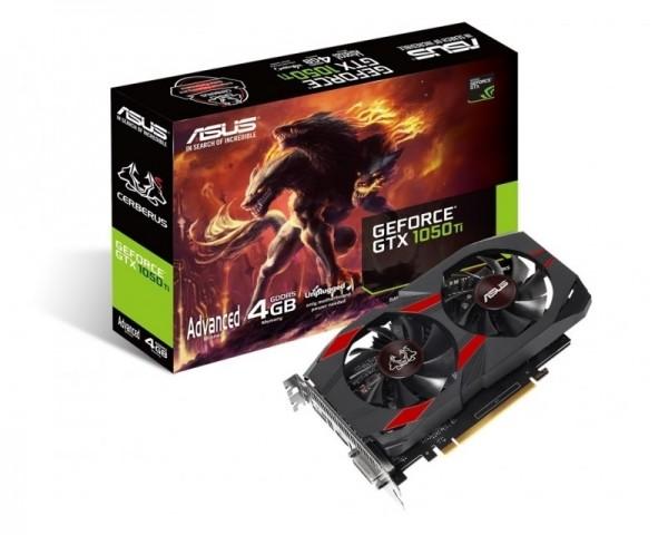ASUS nVidia GeForce GTX 1050Ti 4GB CERBERUS-GTX1050TI-A4G