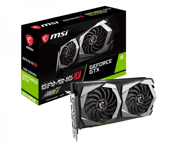 MSI nVidia GeForce GTX 1650 SUPER 4GB 128bit GTX 1650 SUPER GAMING X