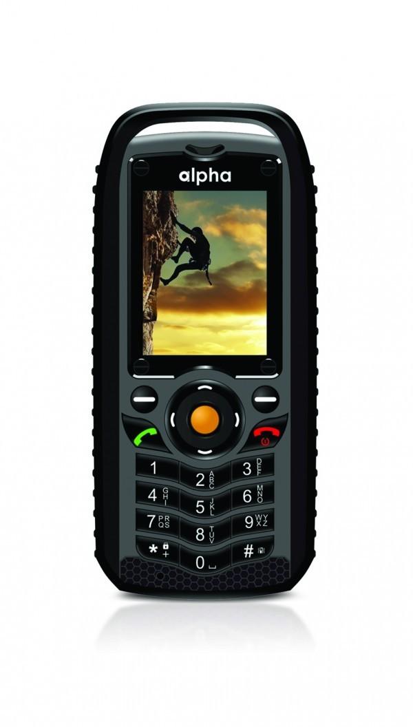 ALPHA R1 Mobilni telefon (Crna)