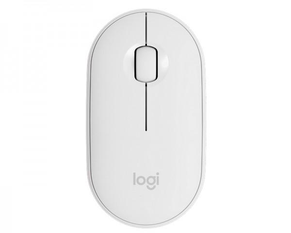 LOGITECH Pebble M350 Wireless Off-White miš