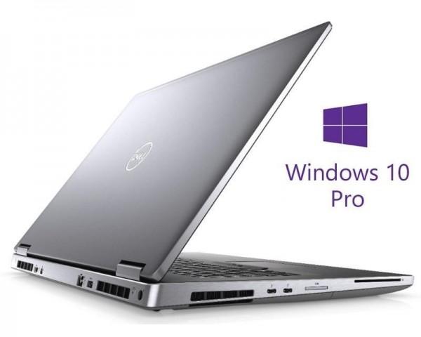 DELL Precision M7740 17.3'' 4K i7-9850H 32GB 1TB SSD Quadro RTX 4000 8GB Backlit SC Win10Pro 3yr ProSupport
