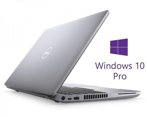 DELL Latitude 5511 15.6'' FHD i7-10850H 16GB 512GB SSD GeForce MX250 2GB Backlit FP SC Win10Pro 3y NBD