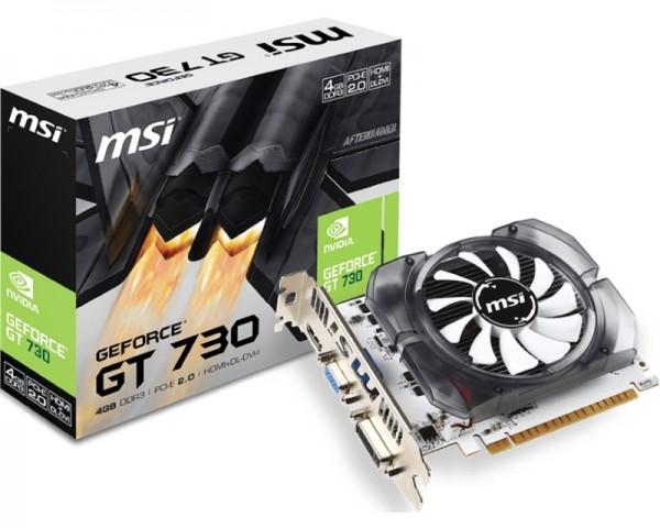 MSI nVidia GeForce GT 730 4GB 128bit N730-4GD3V2