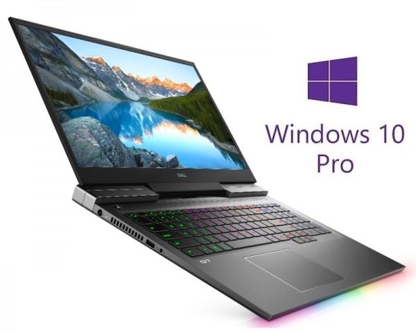 DELL G7 7700 17.3'' FHD 144Hz 300nits i7-10750H 16GB 512GB SSD GeForce GTX 1660Ti 6GB RGB Backlit FP Win10Pro crni 5Y5B