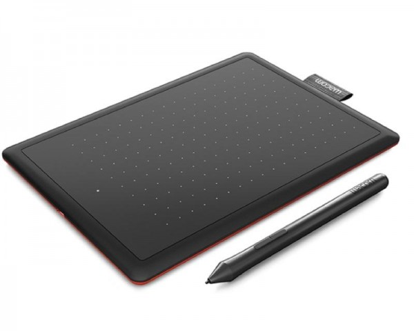 WACOM Grafička tabla One by Wacom M crno-crvena (CTL-672-N)