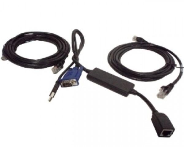 DELL OEM USB Server Interface Pod + kablovi 1x1.8m 1x4m $