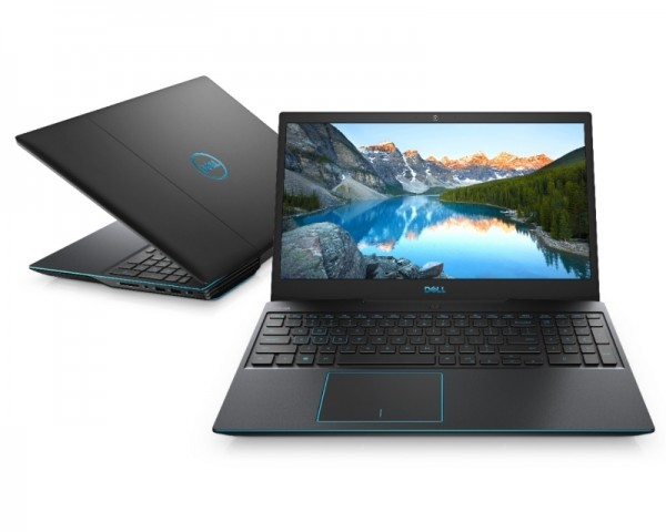 DELL G3 3500 15.6'' FHD 120Hz i7-10750H 8GB 512GB SSD GeForce GTX 1650Ti 4GB Backlit FP crni 5Y5B