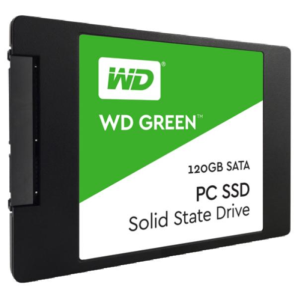 SSD WD 120GB Green SATA3 WDS120G2G0A
