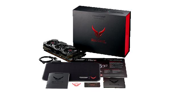 Powercolor RX 5700XT Red Devil 8GB DDR6 AXRX 5700XT 8GBD6-3DHE/OC