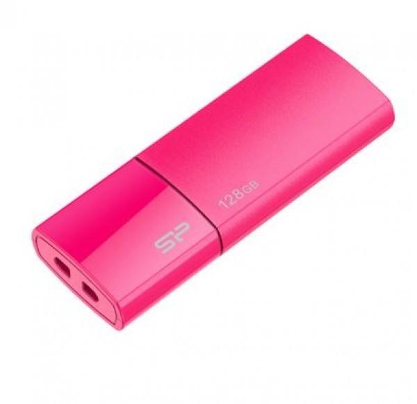 Flash Drive Silicon Power 128GB Blaze B05 USB3.0 SP128GBUF3B05V1H Peach
