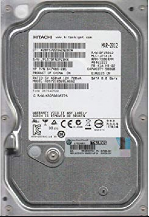HDD Hitachi 500GB 7200rpm HDS721050CLA662 Ref.bulk