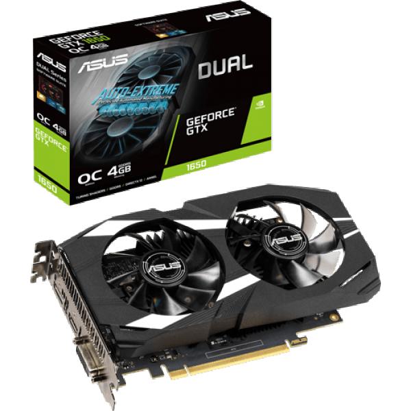SVGA PCIE ASUS DUAL-GTX1650-4G 128bit