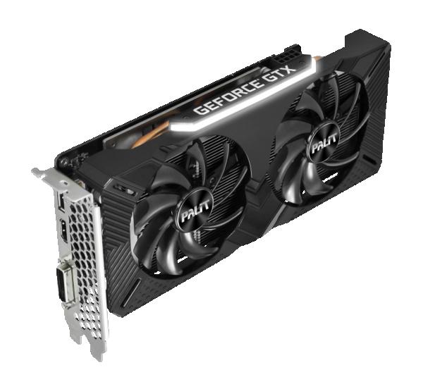 SVGA Palit GTX1660 6GB DUAL NE51660018J9-1161A