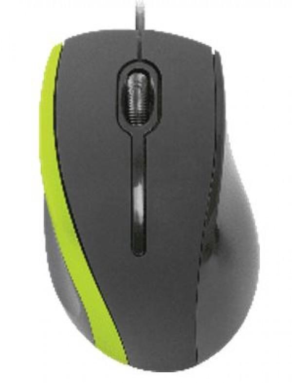 Miš Defender MM-340 žični USB, crno-zeleni