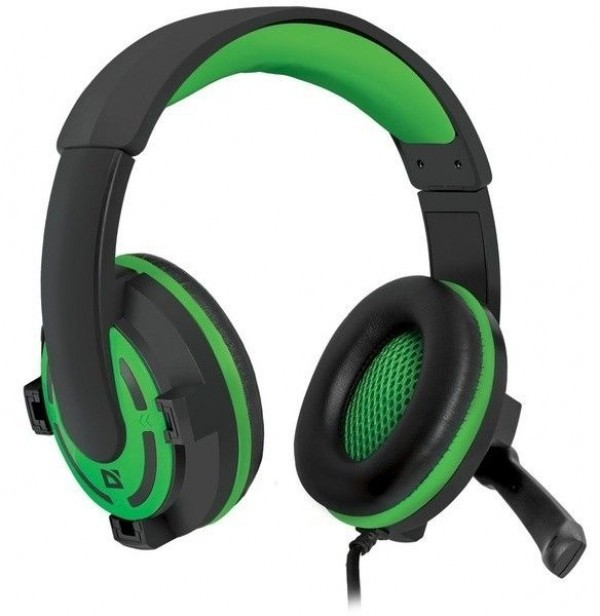 Slušalice Defender Warhead G-300 gejmerske, zelene