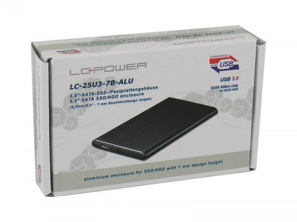 HDD Rack LC Power 2.5'' LC-25U3-7B-ALU USB3.0