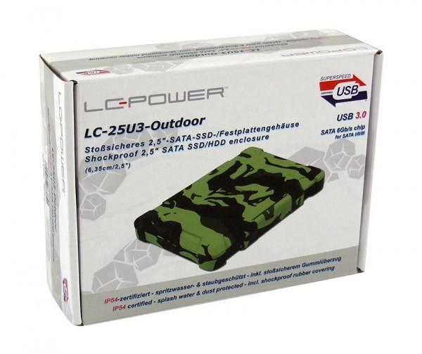 HDD Rack LC Power 2.5'' LC-25U3-Shockproof SATA