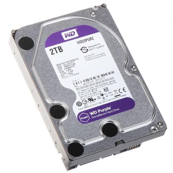 HDD WD 2TB WD20PURZ SATA3 64MB Caviar Purple