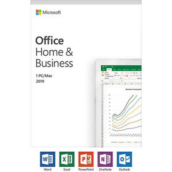 Software Office Home&Business 2019 PCMAC, FPP eng. T5D-03203