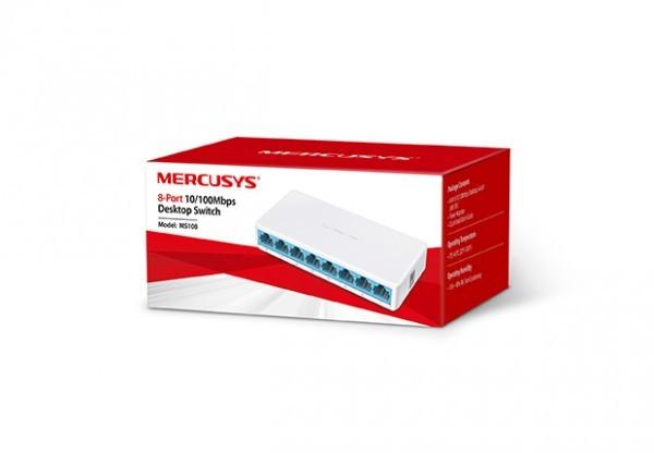 Switch Mercusys MS108 8-port 10100M