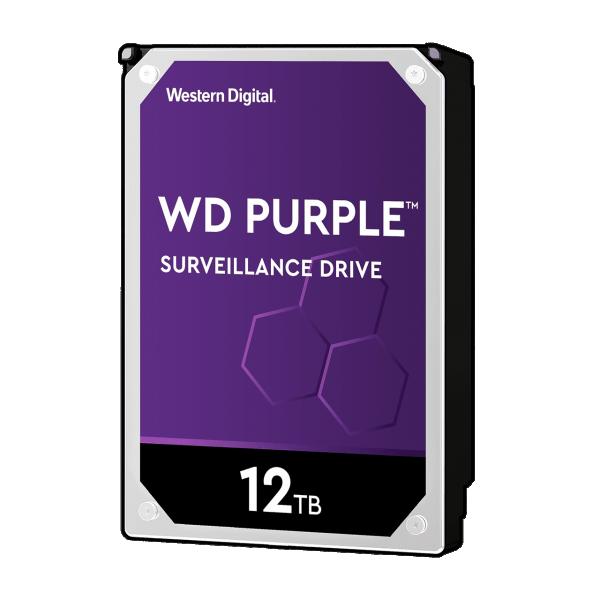 HDD WD 12TB 256MB 7200rpm WD121PURZ Purple