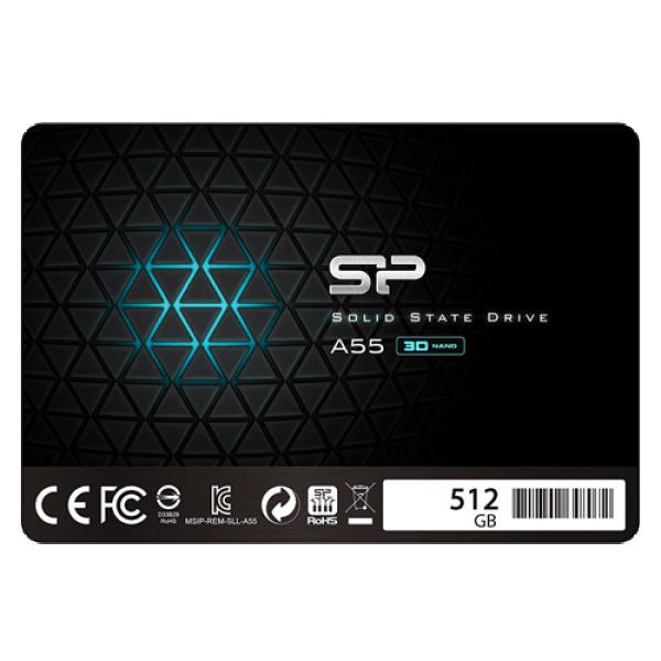 SSD Silicon Power 2.5'' SATA A55 512GB SP512GBSS3A55S25