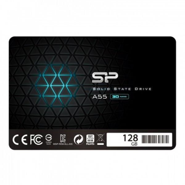 SSD Silicon Power 2.5'' SATA A55 128GB SP128GBSS3A55S25