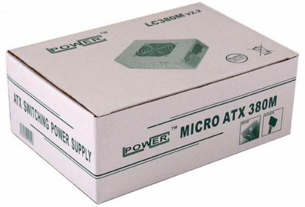 Napajanje 380W LC Power LC380M v2.2 MicroATX