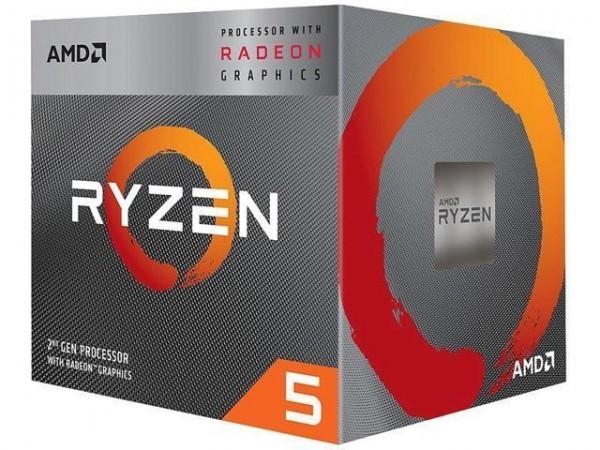 CPU AM4 AMD Ryzen 5 3400G 3.7GHz Box