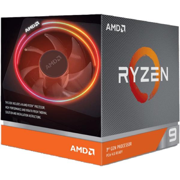 CPU AM4 AMD Ryzen 9 3900x 12 cores 3.8GHz Box