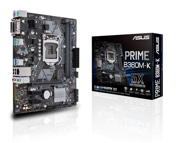 MB s1151 ASUS PRIME B360M-K