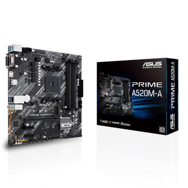 MB ASUS AMD AM4 PRIME A520M-A