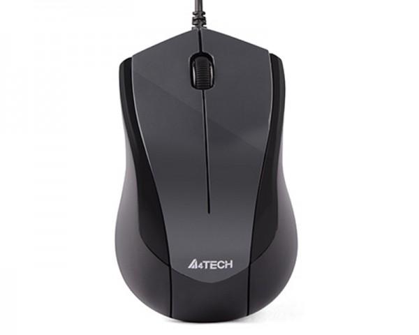 A4 TECH N-400-1 V-Track Optical USB sivi miš