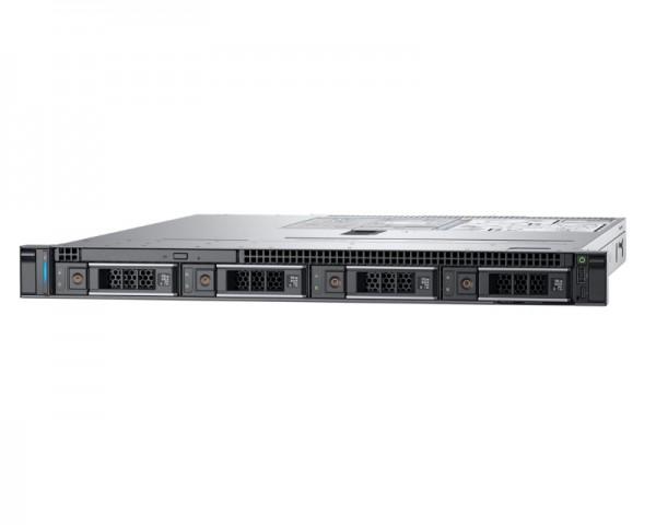 DELL PowerEdge R340 Xeon E-2226G 6C 1x16GB H330 1x600GB SAS 350W (1+1) 3yr NBD + Sine za Rack + Broadcom 5719 QP 1GbE