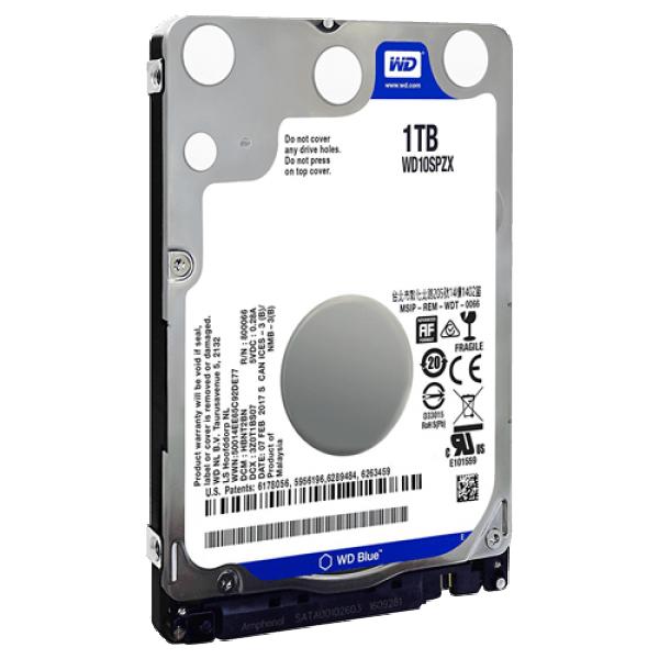 HDD 2.5'' WD 1TB WD10SPZX 5400rmp 128MB Bulk