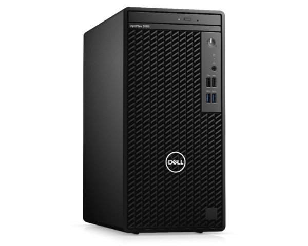 DELL OptiPlex 3080 MT i3-10100 8GB 256GB SSD DVDRW Ubuntu 3yr NBD