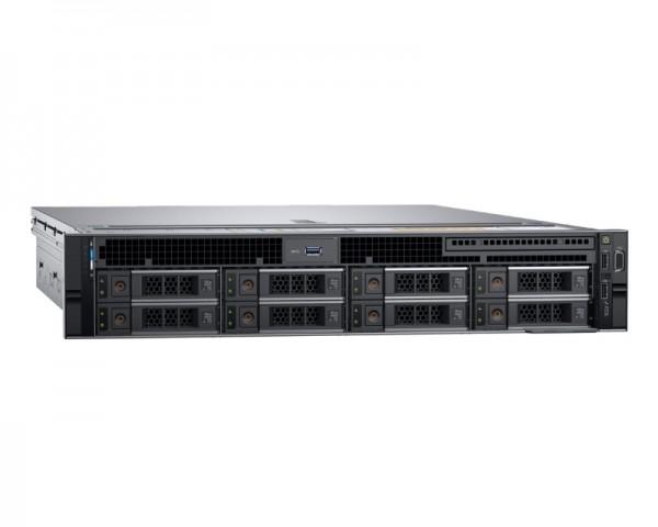 DELL PowerEdge R740 1x Xeon Silver 4210 10C 2x16GB H730P 2x600GB SAS 750W (1+1) 3yr Pro + šine za rack + Broadcom 5720 QP 1GbE