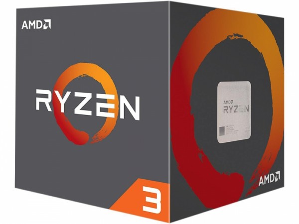 CPU AM4 AMD Ryzen 3 1200 4 Cores 3.1GHz