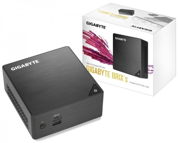 GIGABYTE GB-BLCE-4105 BRIX Mini PC Intel Quad Core J4105 1.50 GHz(2.50 GHz)