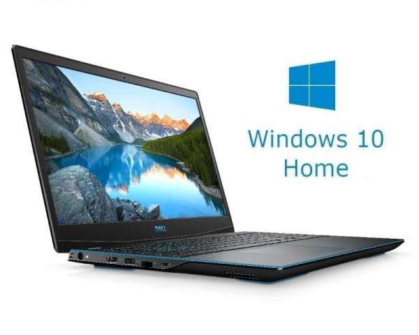DELL OEM G3 3500 15.6'' FHD 144Hz i7-10750H 16GB 512GB SSD GeForce RTX 2060 6GB Win10Home crni 5Y5B
