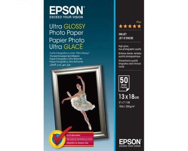 EPSON S041944 Ultra glossy foto papir 13x18cm (50 listova)