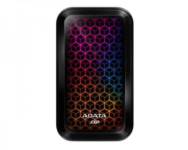 A-DATA 512GB ASE770G-512GU32G2-CBK crni eksterni SSD