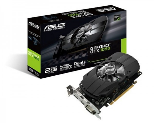 ASUS nVidia GeForce GTX 1050 2GB 128bit PH-GTX1050-2G