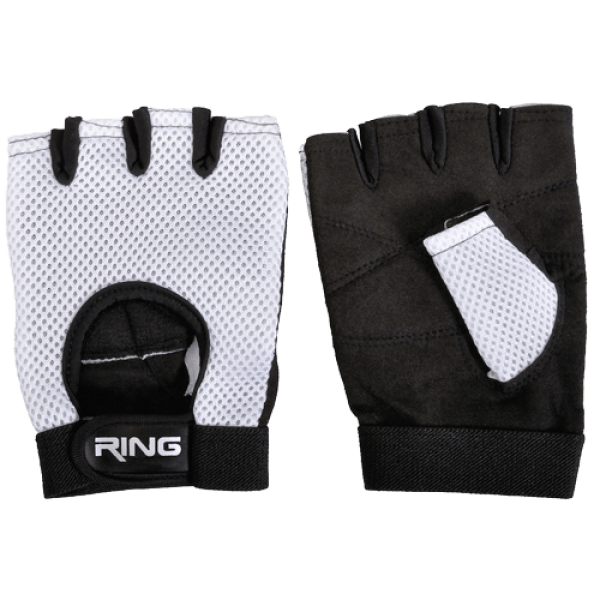 RING Fitnes rukavice za teretanu RX FG310 (CrnaBela)