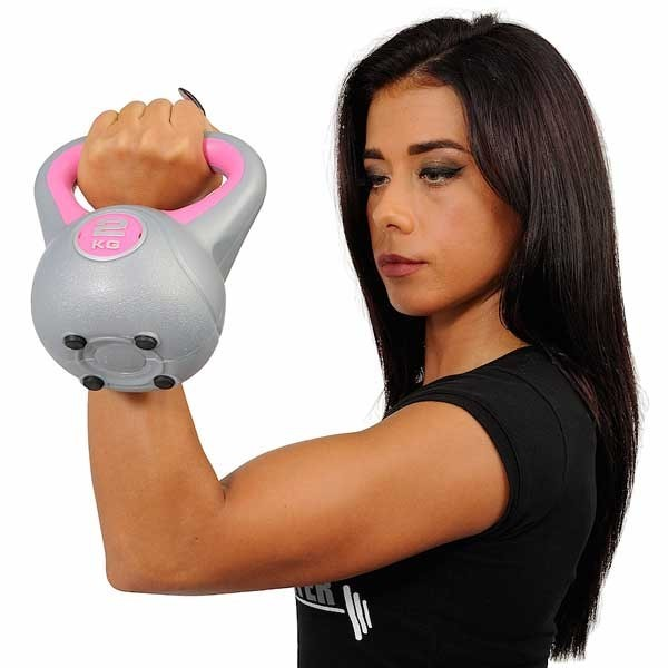 Ring Kettlebell RX DB2819-2, 2kg (Pink)
